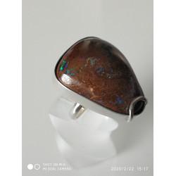 .טבעת עם אופל מקסיקני