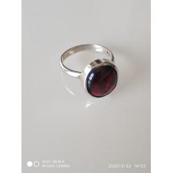 .טבעת עם גארנט