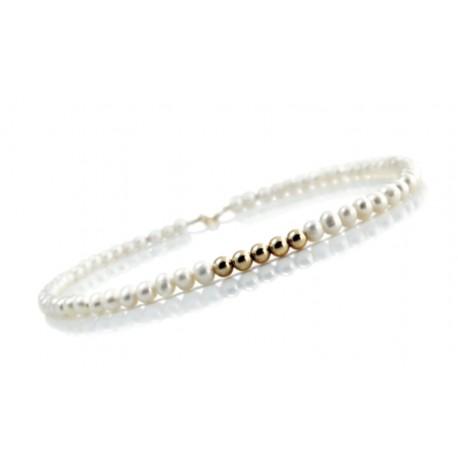 Ожерелье с белым жемчугом