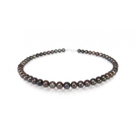 Ожерелье с чёрным жемчугом