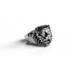 טבעת לגבר  אריה